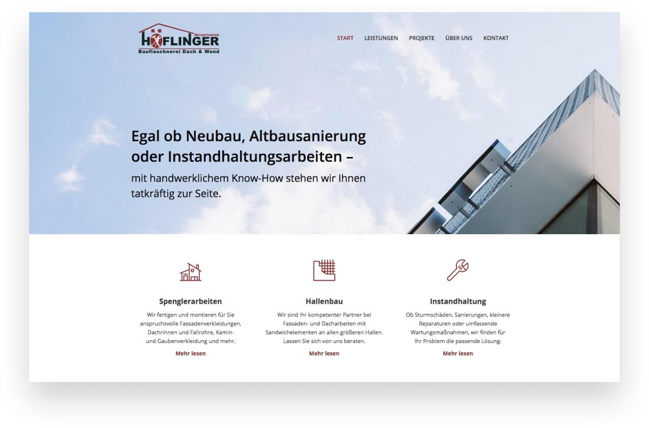 Webdesign Handwerker